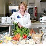 food scientist in kitchen