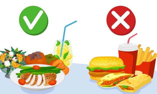 Managing Weight: Good Foods vs. Bad Foods