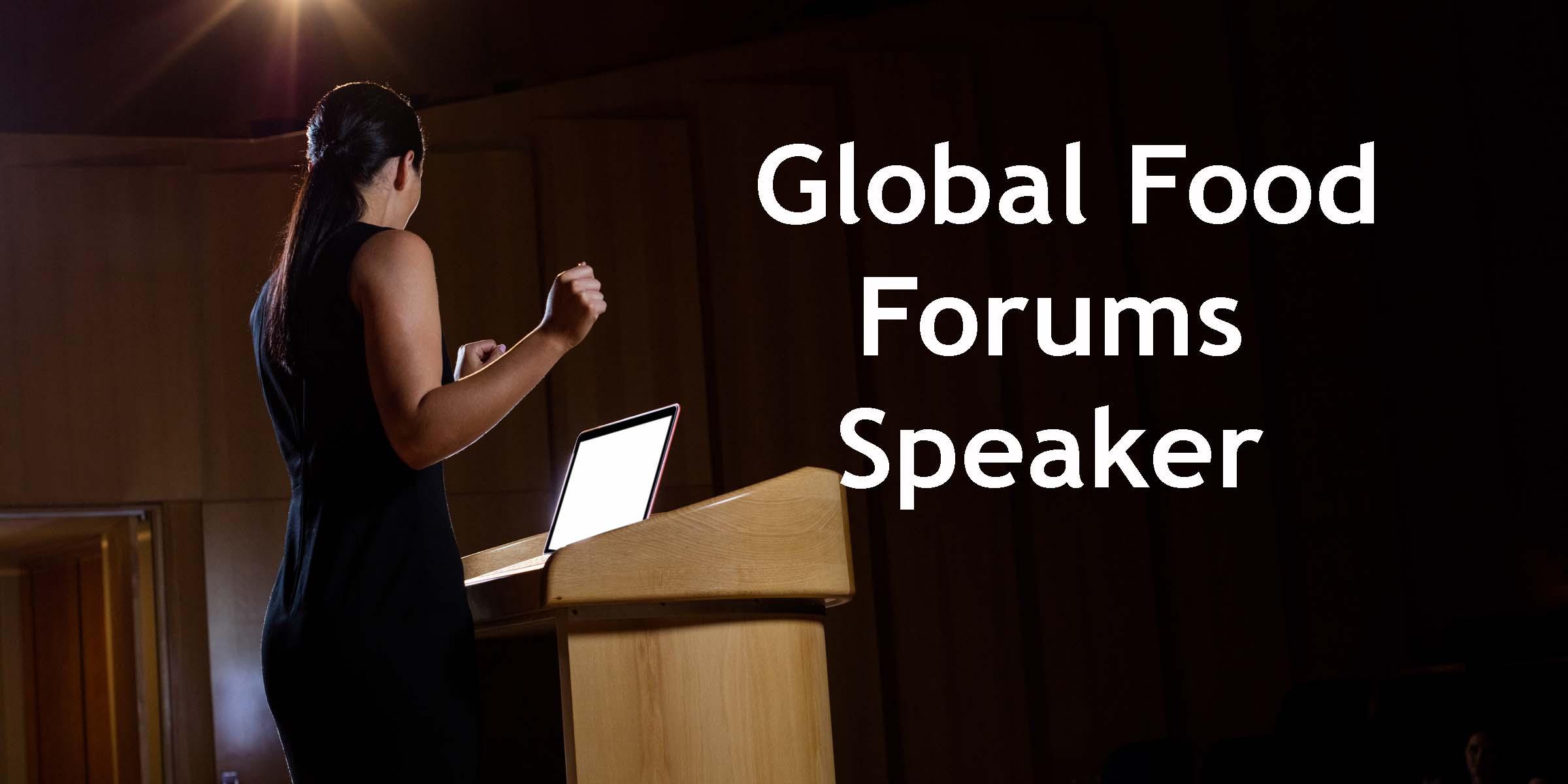 Global Food Forums Speaker-3