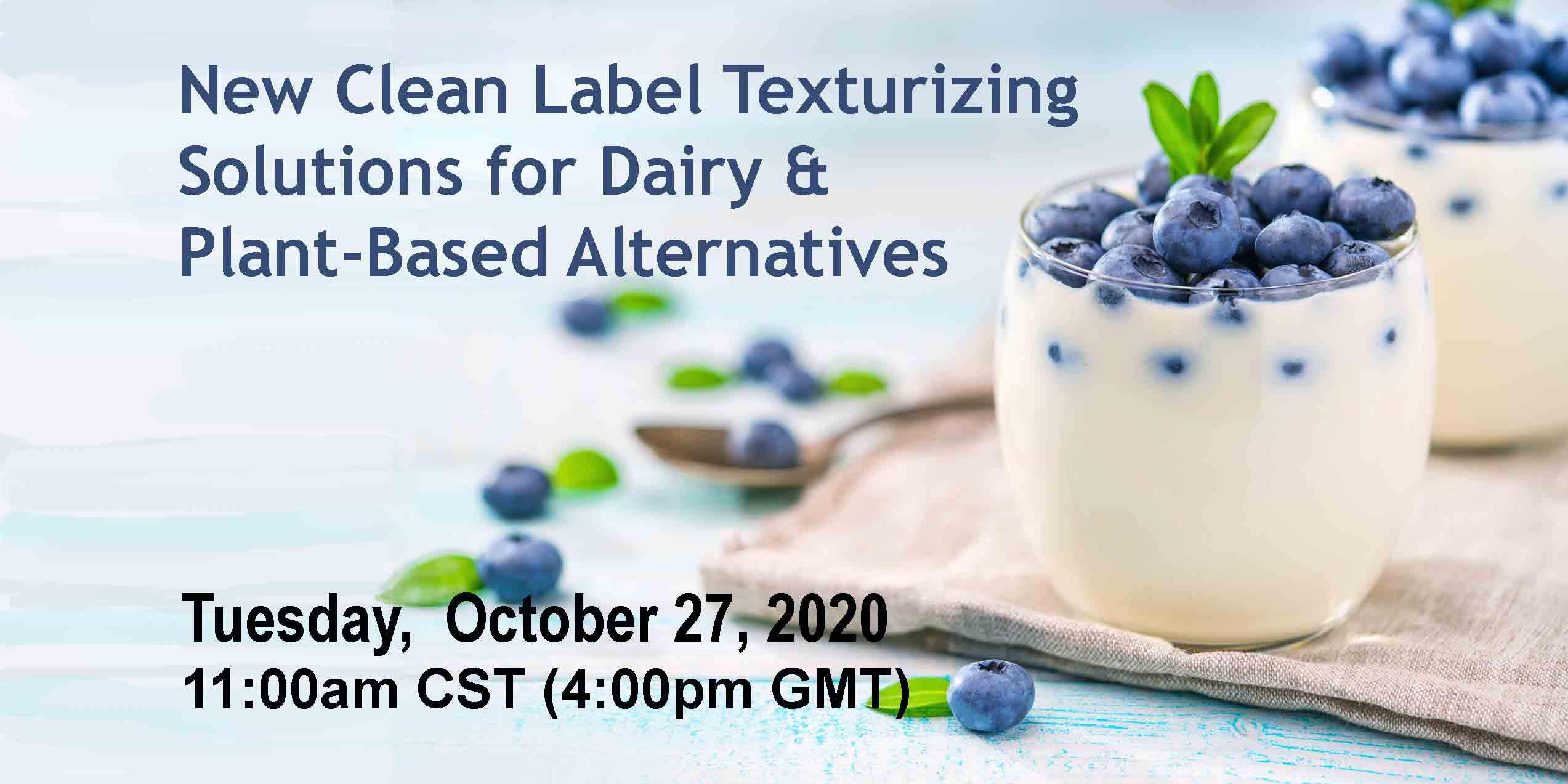 Avebe Texturizing Solutions for Plant-Based Dairy Webinar