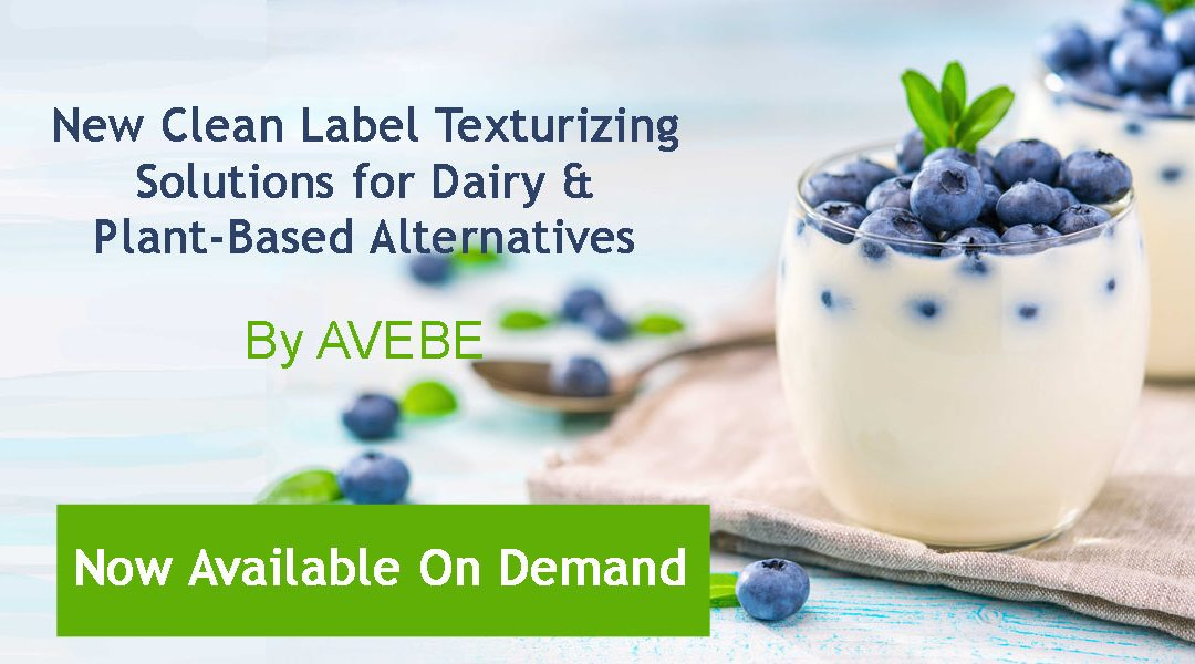 [Free Webinar] Texturizing Solutions & Plant-Based Alternatives
