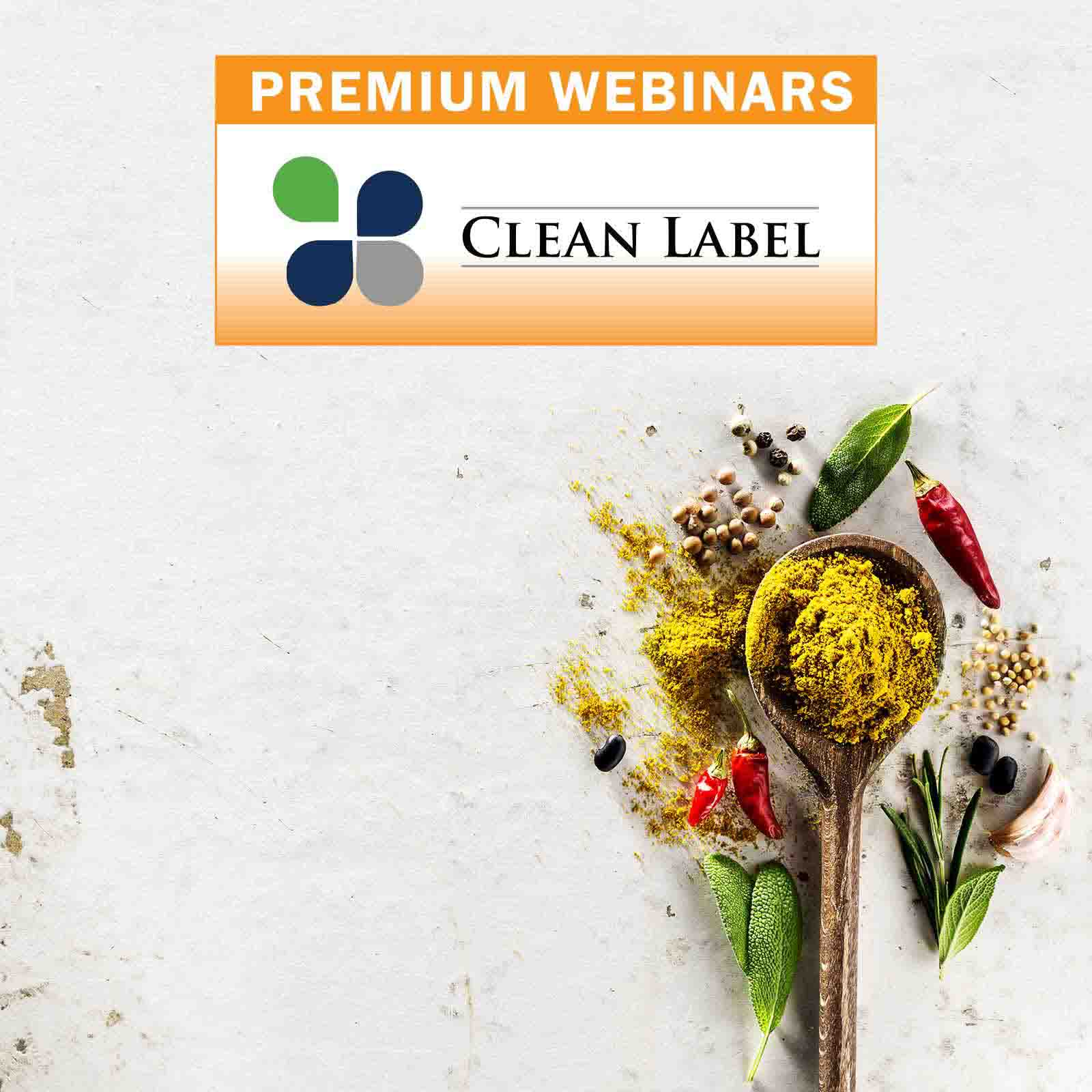 image for the 2021 Clean Label Premium Webinar on the webinar listing page