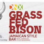 DNX Grass Fed Bison Jamaican Style Bar-original